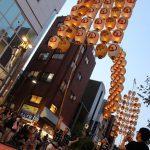 浅草オレンジ通りでの演技(2018.6)