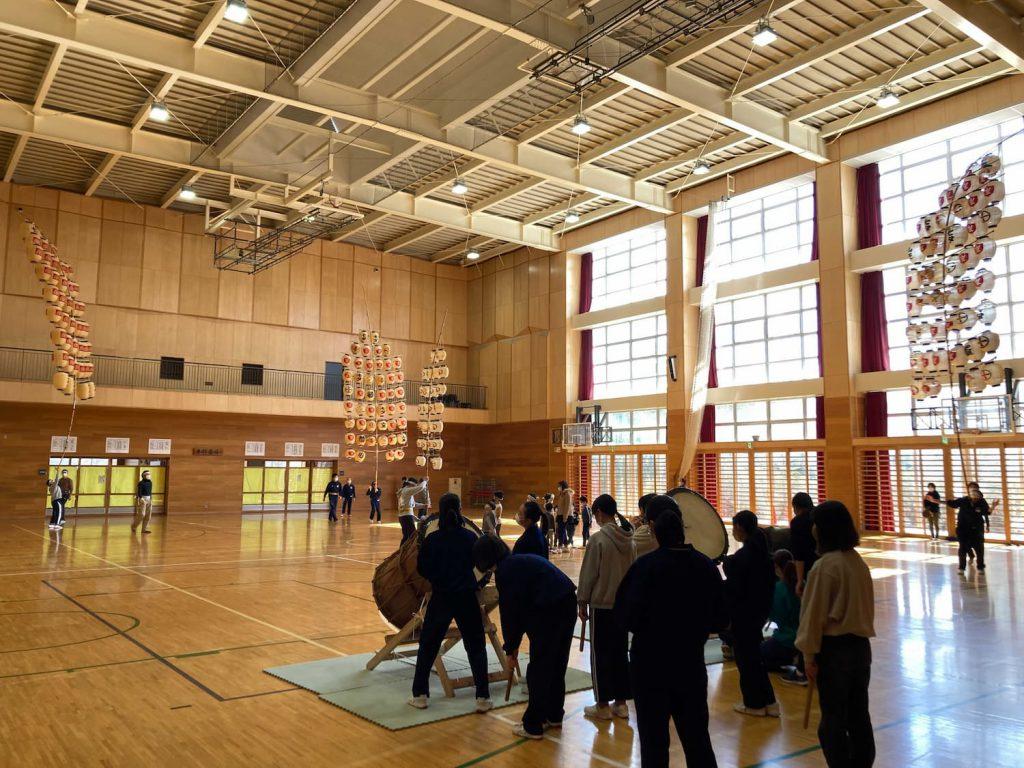 山王中学校「どっこいしょプロジェクト」